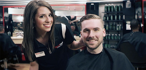 Sport Clips Haircuts of Rogers​ stylist hair cut